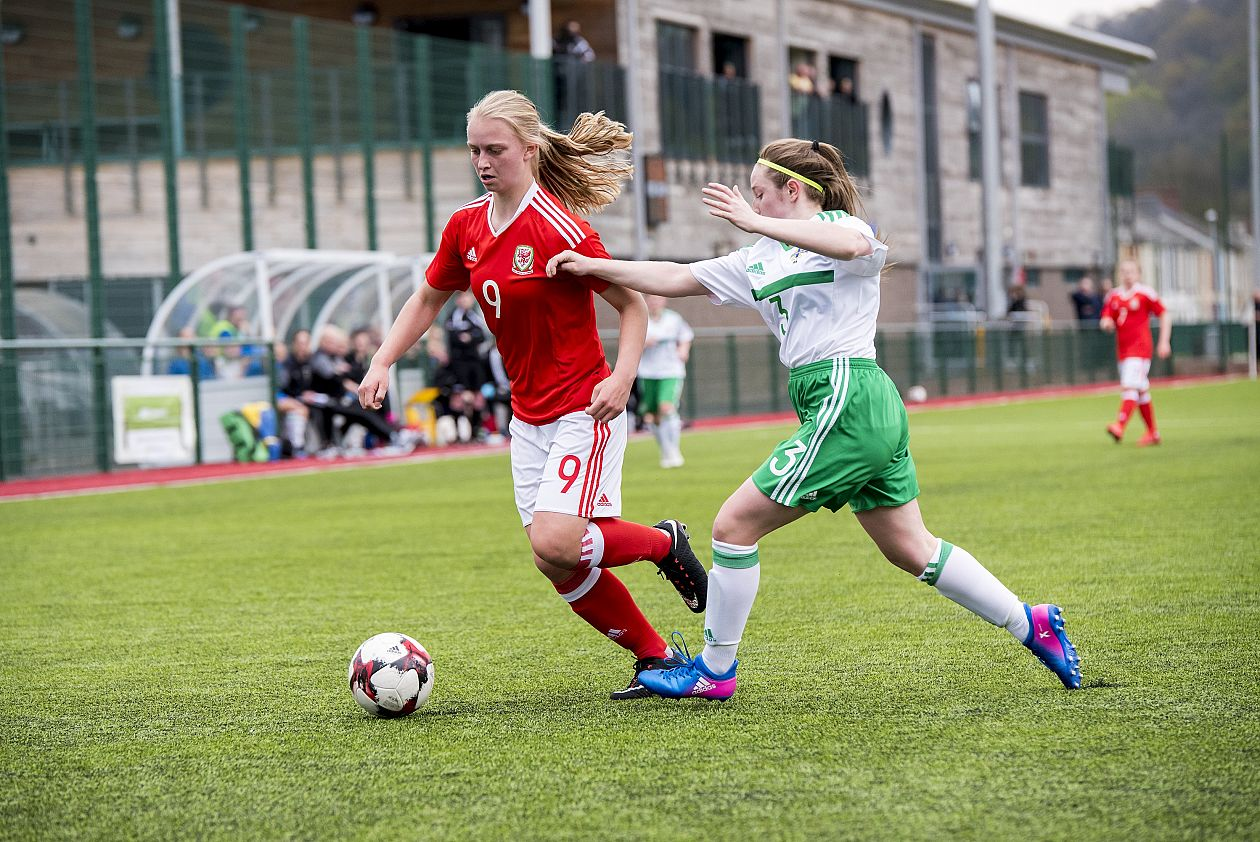 Honours Even For Wales Women U17 Against Northern Ireland