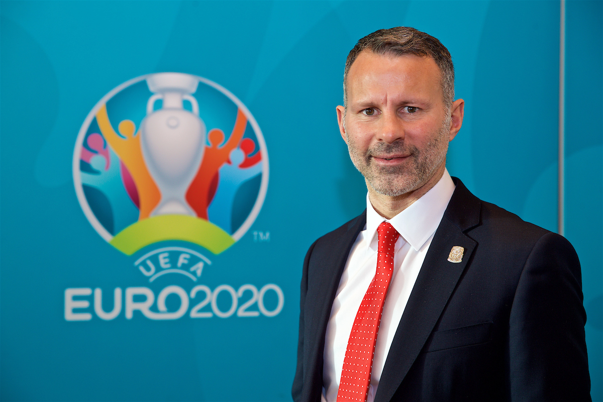 Ryan Giggs was in attendance for the draw in Dublin.