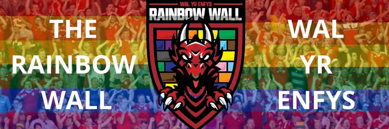 The Rainbow Wall - Cymru's New LGBTQ+ supporters Group