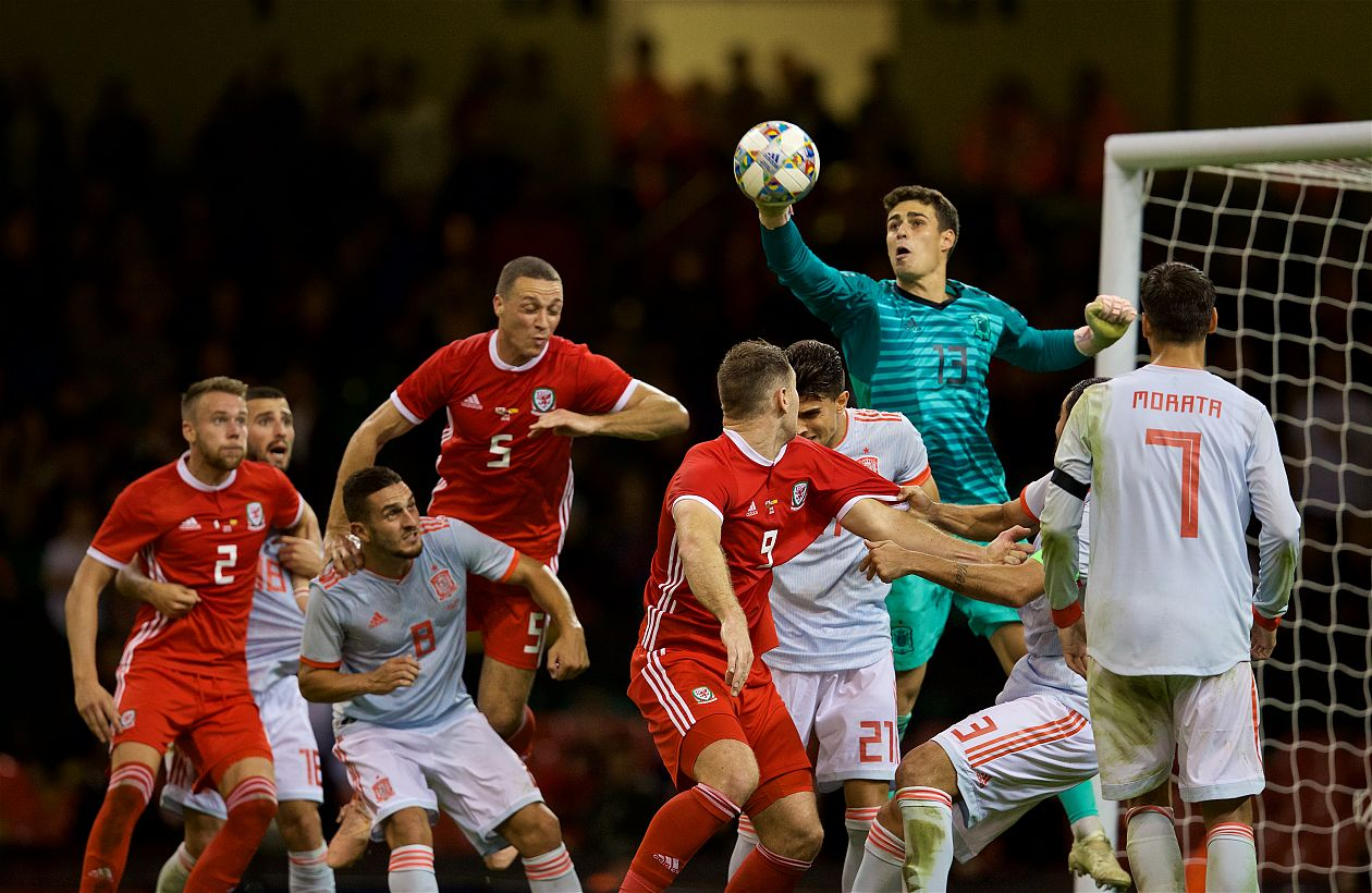 Spain prove too difficult a test for Wales