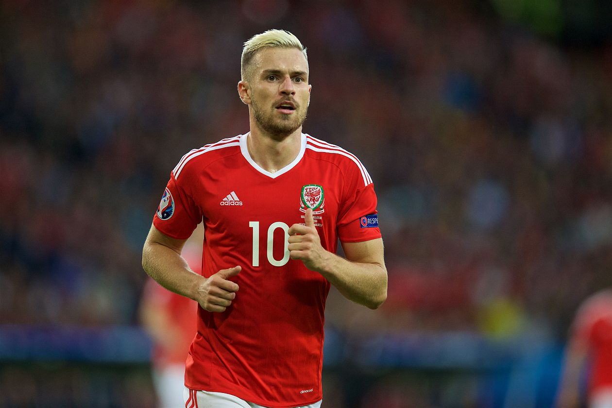 reputable site 6406a decc2 Aaron Ramsey returns for Wales