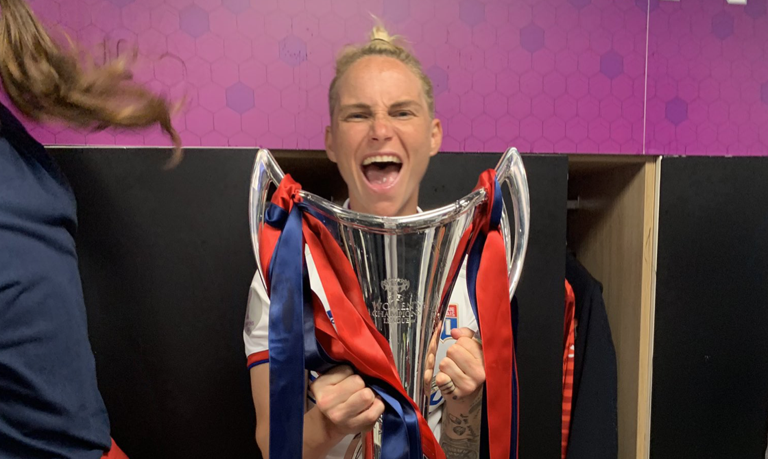 Fishlock joins elite club with UWCL glory
