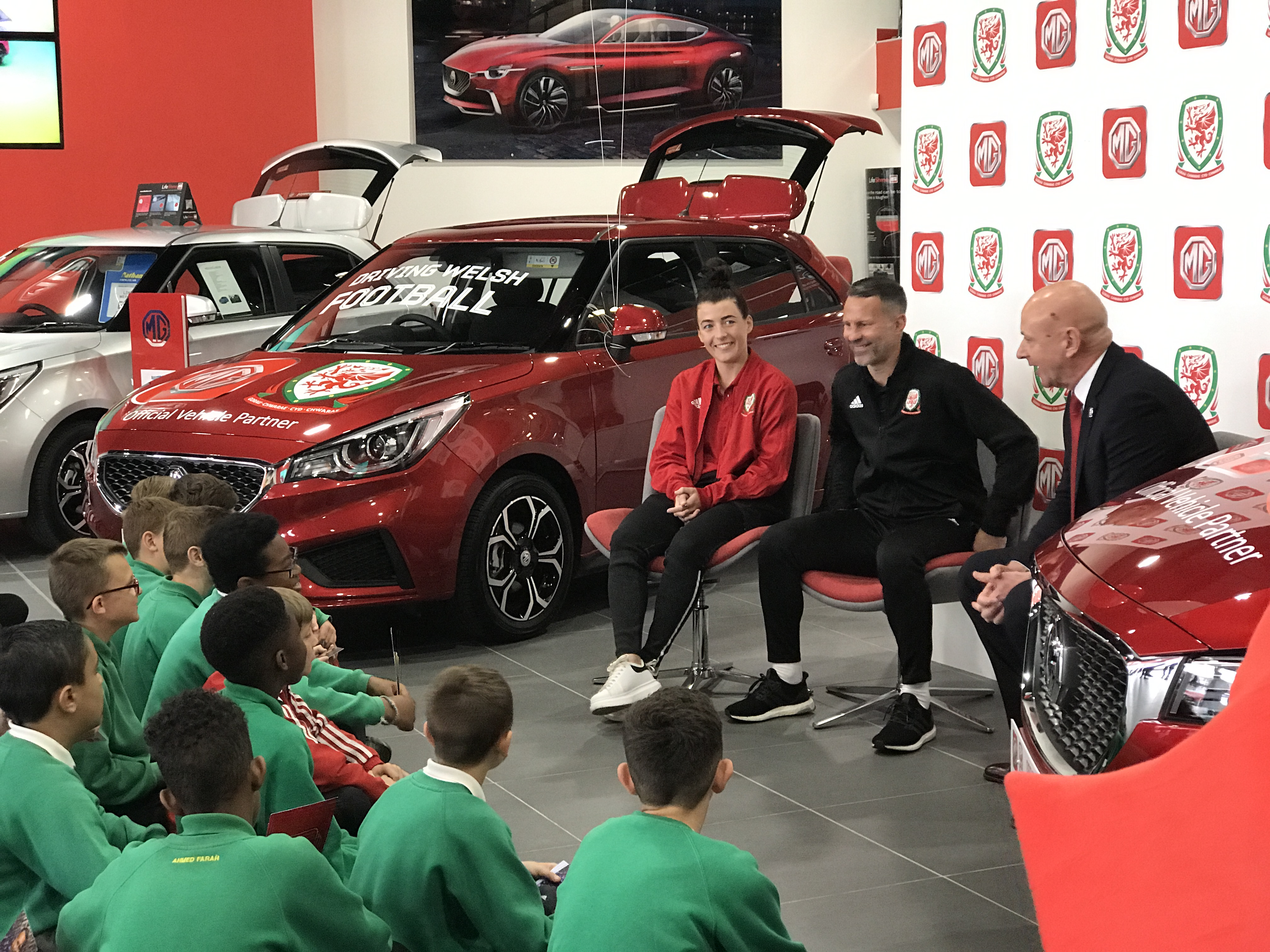 MG Motor UK Confirmed as Official Vehicle Partner of the Football Association of Wales