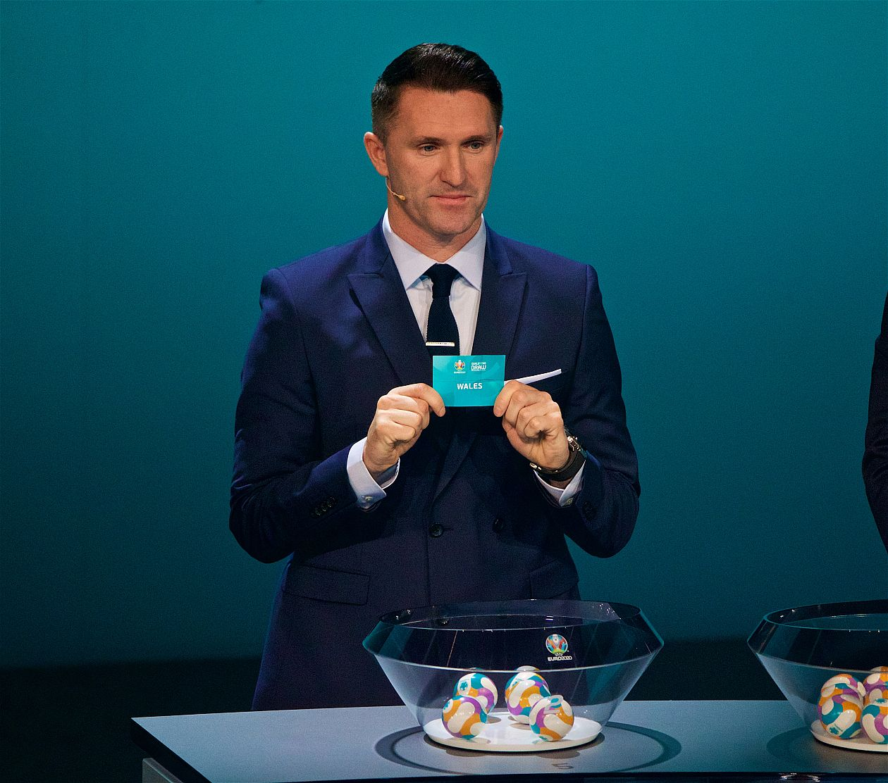 Robbie Keane draws Wales into Group E at the EURO 2020 Qualifying Draw in the Republic of Ireland.
