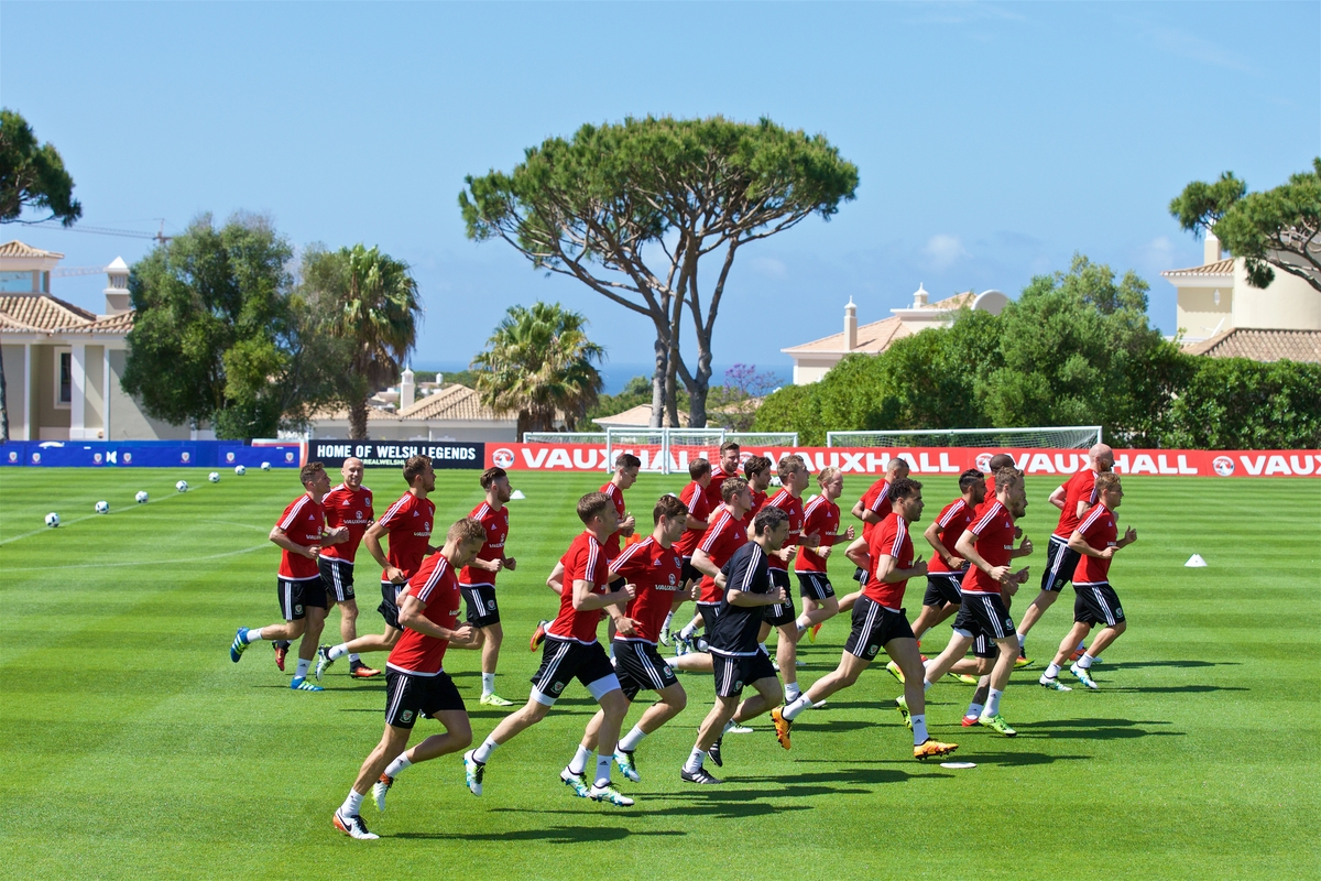 Wales EURO Preparations Going Well in the Algarve