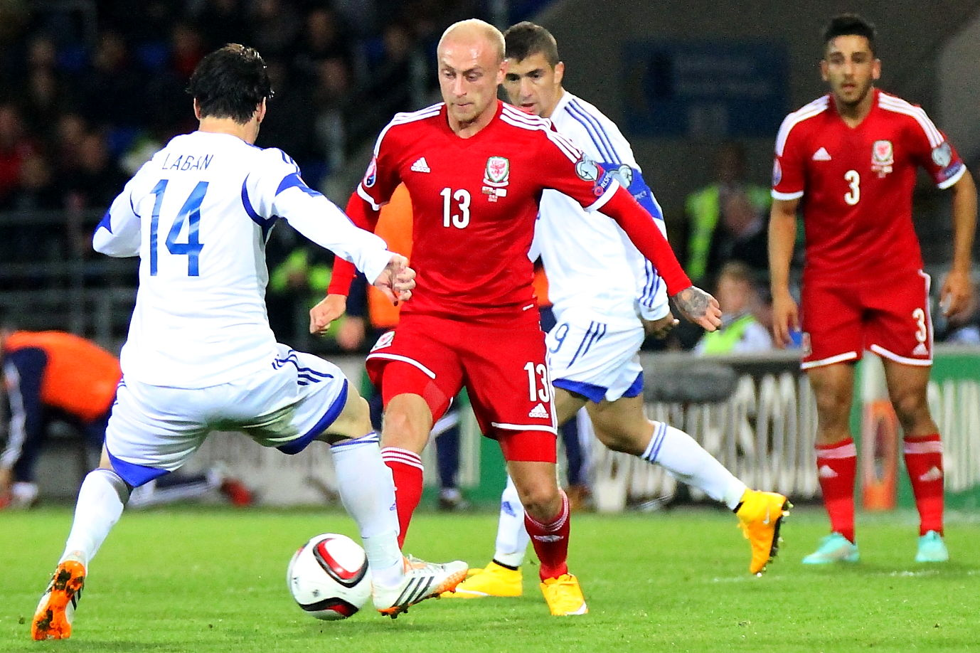 Wales Defeat Cyprus in tense encounter.