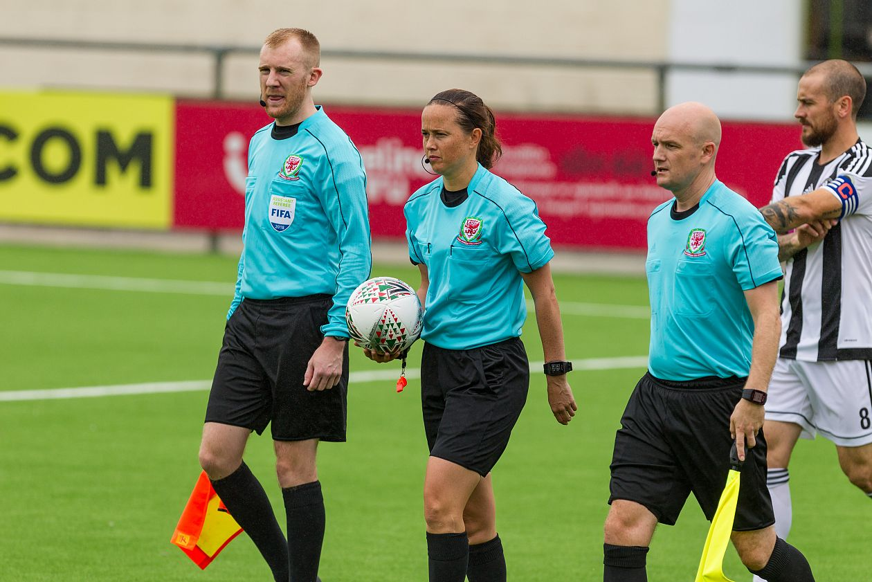 FIFA Trio in Support of Female Referee Course