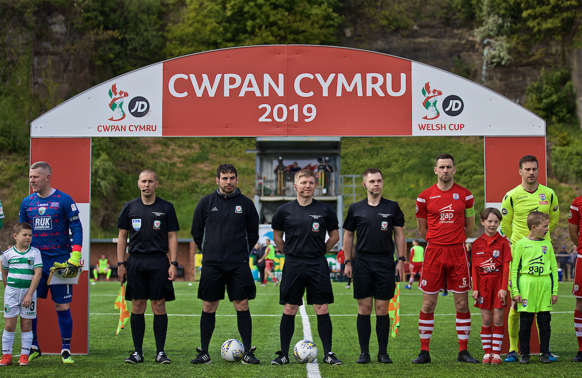 Thomas hails bright future for Welsh Referees