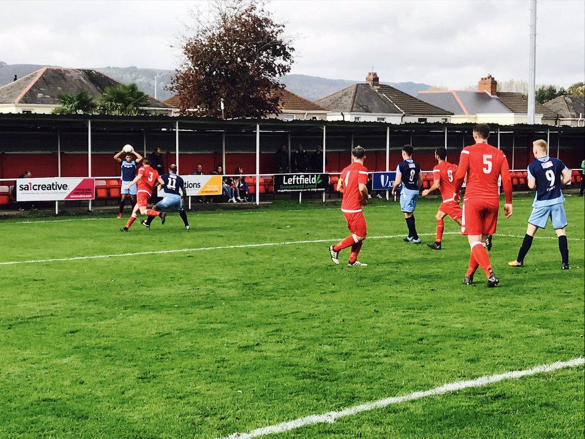 Blaenrhondda lead the shocks in JD Welsh Cup First Round
