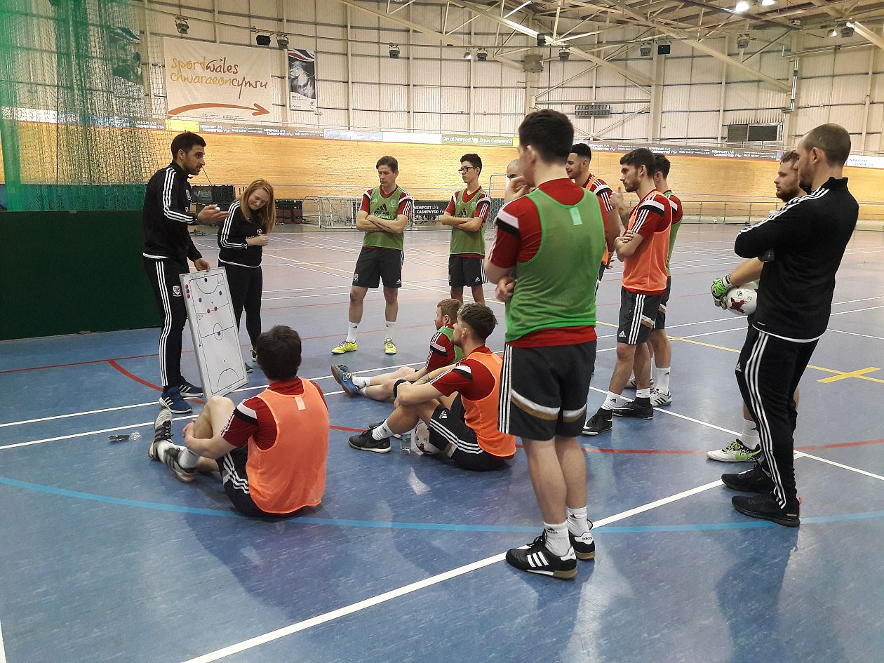 Wales prepare for deaf futsal Euros
