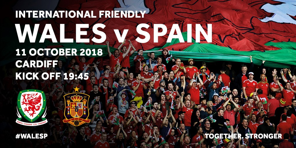 Wales v Spain – Ticket Details Released