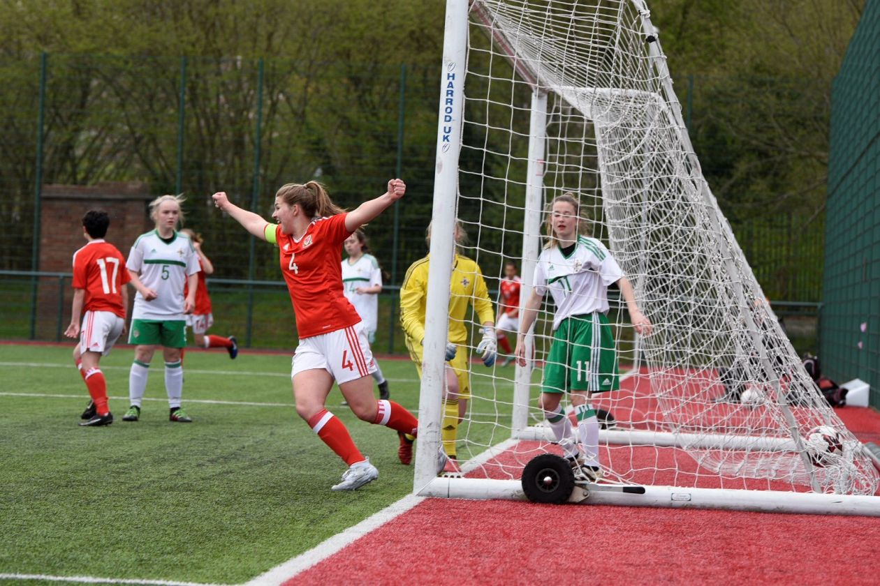 Wales Women U17 secure victory over Northern Ireland