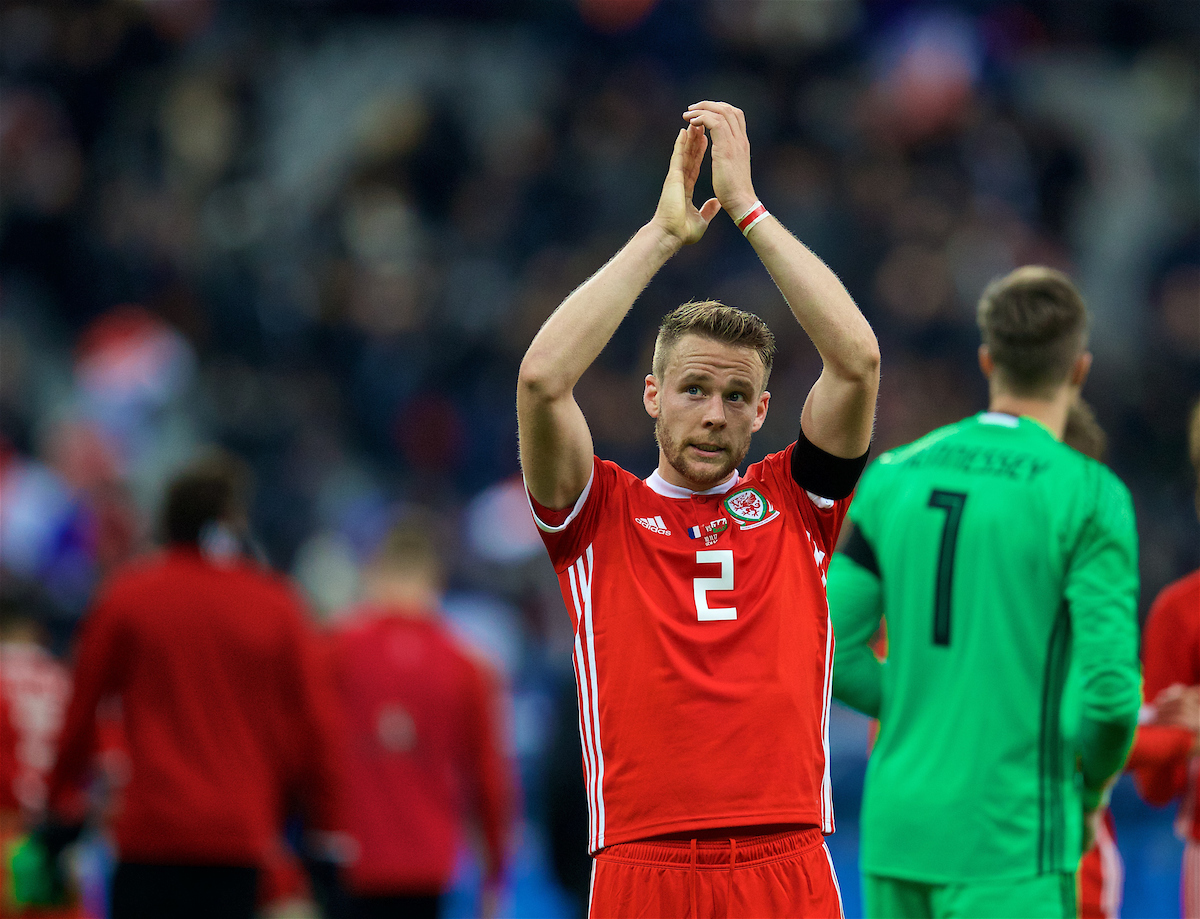 Chris Gunter to captain Wales as he equals caps record