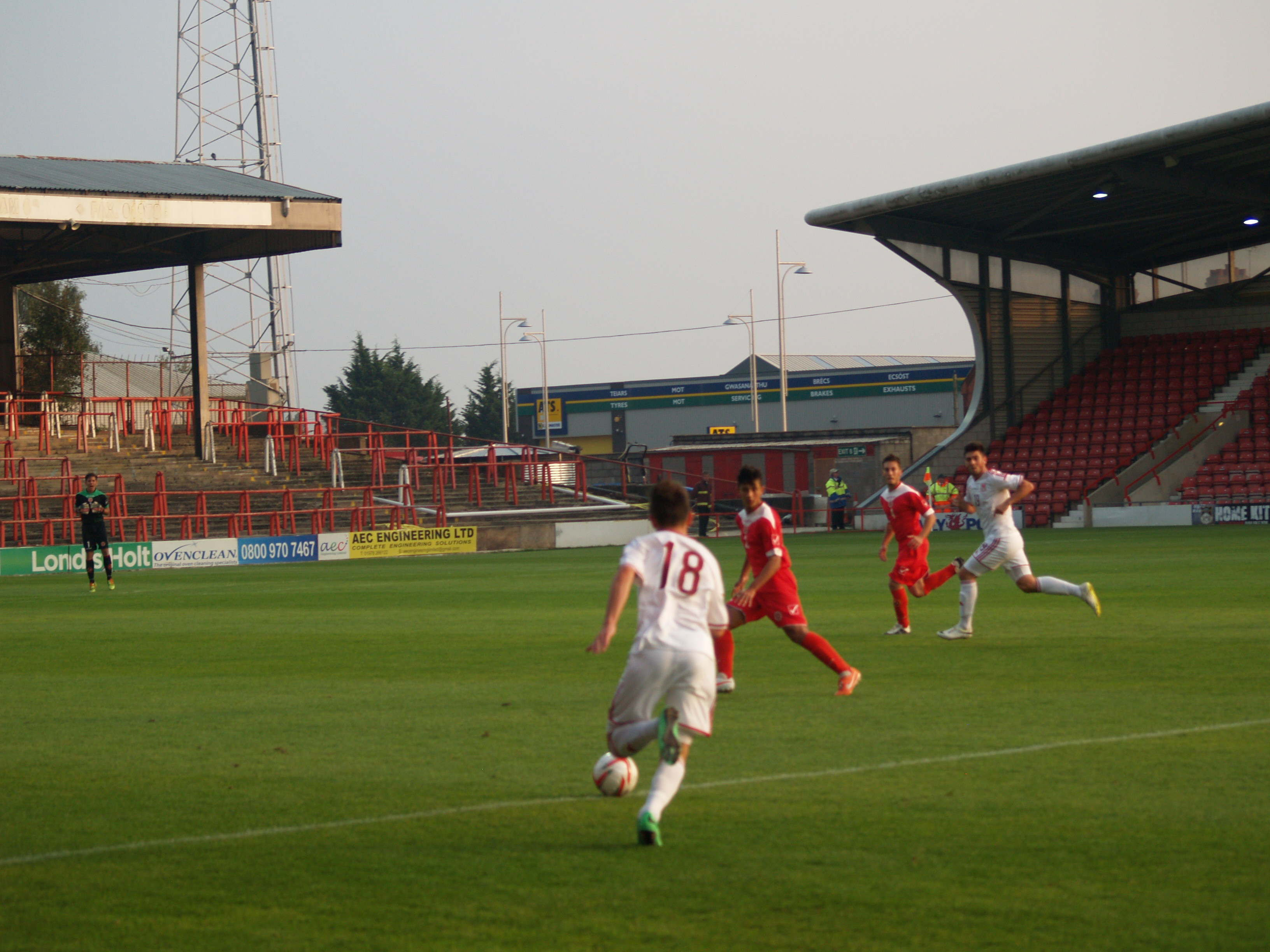 Wales Under 17 Men v Malta - Game 2 - 5-1 to Wales