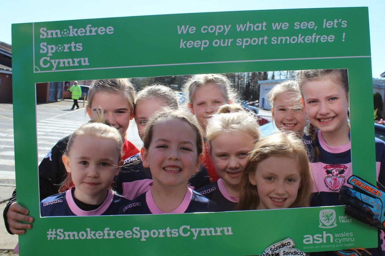 FAW announces historic move to ban smoking on the sidelines of children's football games in Wales