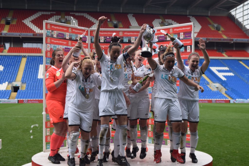Swansea come back to beat Cardiff in FAW Women's Cup Final