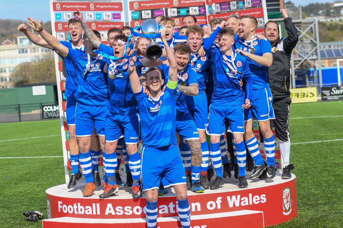 Albion victorious in FAW Trophy Final