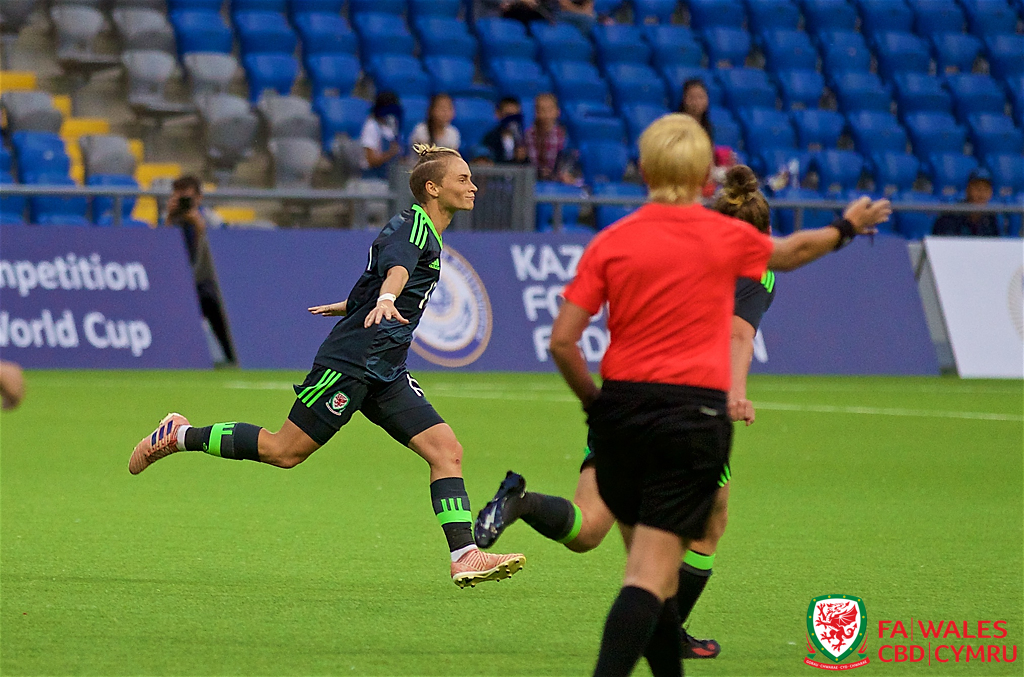 Match report: Kazakhstan 0-1 Wales Women