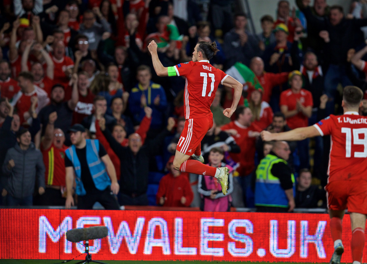 Bale comes to the rescue for Cymru